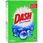 Порошок для стирки белья Dash Alpen Frische Универсальный, 2.6 кг (40 стирок)