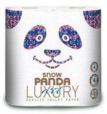 Туалетная бумага PANDA LUXURY 4 слоя 20.8м*4 Fashion