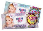 Салфетки влажные Nemdil Baby 120