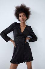 Платье ZARA Чёрный 7385/321/800