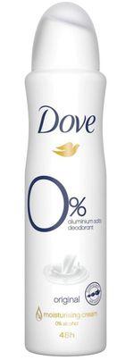 Антиперспирант Dove Original 0% алюминий, 150 мл