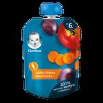Пюре Gerber яблоко-слива-морковь, с 6 месяцев, 90г