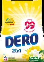 Стиральный порошок Dero Фрезия и Липa, 4 кг.