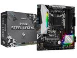 MB AM4 ASRock B450M STEEL LEGEND  mATX