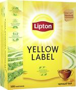 Lipton Yellow Label, 100 пак.