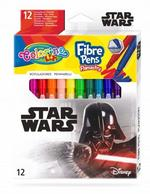 Набор фломастеры 12 цветов - Colorino Disney Star Wars
