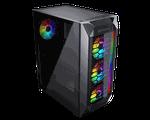 Case ATX Cougar MX410-G RGB, w/o PSU, Black