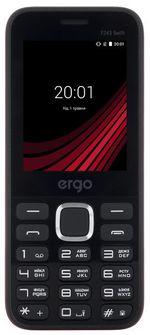 Ergo F243 Swift Duos Black