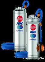 Скважинный глубинный насос многолопастный Pedrollo NKm2/4-GE