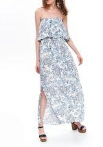 Платье TOP SECRET Белый/синий ssu2834