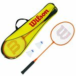 Набор в чехле (2 ракетки для бадминтона + 2 воланчика) WILSON GEAR KIT 2PCS WRT8755003 (1051)