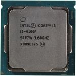 CPU Intel Core i3-9100F 3.6-4.2GHz