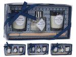 Набор для ароматерапии 3ед (2арома-свечи+освежитель с палочк