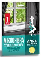 Тряпка из микрофибры для окон Anna Zaradna