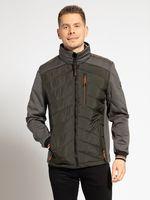 Куртка TOM TAILOR Черный/Серый