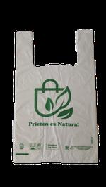 Пакеты компостируемые 27*46cм prieten cu natura