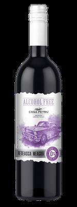 Вино безалкогольное Casa Petru Alcohol Free Feteasca Neagra