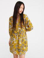 Платье RESERVED Желтый с принтом xt233