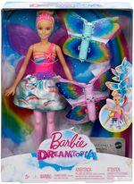 Кукла Barbie Фея Летающие Крылышки, код FRB08