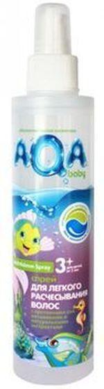 Спрей для легкого расчесывания волос Aqa Baby Kids 200 мл