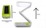 Настольная светодиодная лампа 1016 Top Well на аккумуляторах с солнечной батареей
