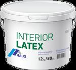 Краска водоэмульсионная интерьерная Haus Latex 1,2 кг