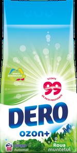 Стиральный порошок Dero Ozon+ Горная роса, 8 кг.