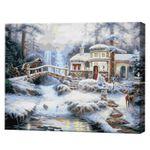 Лесной пейзаж, 40x50 см, картина по номерам Артукул: GX9900