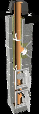 Дымоход керамический - TONA TEC PLUS