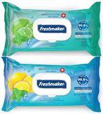 Салфетки влажные Freshmaker Antibacterial 120