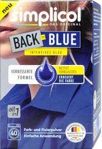 SIMPLICOL Back-to-BLUE Краска для окрашивания и восстановления цвета одежды в стиральной машине (синий), 400 г