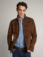 Куртка Massimo Dutti Коричневый 3313/213/700