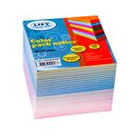 Блок для записей 80*80*60мм цветной
