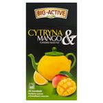 Чай черный Big Active with Lemon & Mango, 20 шт