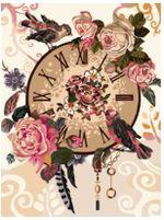 Картина по номерам 30x40«Время романтики», RL086
