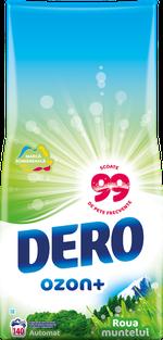 Стиральный порошок Dero Ozon+ Горная роса, 14 кг