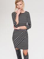 Платье RESERVED Черный в полоску vf755-99x