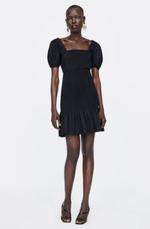 Платье ZARA Чёрный 2026/648/800