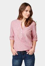Блуза TOM TAILOR Розовый в полоску