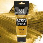 Краска акриловая Art Kompozit, (131) Охра желтая, 75 мл