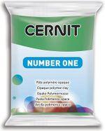 Полимерная глина CERNIT N1 56г, зеленый