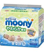 Влажные салфетки Moony (3х80 шт)