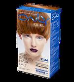 Краска для волос,ESTEL Only, 100 мл., 7/34 - Русый золотисто-медный