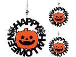 Подвеска в виде тыквы Happy Halloween 30X30X6cm