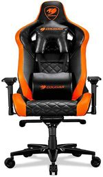 Gaming Chair Cougar ARMOR TITAN PRO Black/Orange, User max load up to 160kg / height 160-195cm