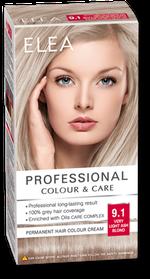 Vopsea p/u păr, SOLVEX Elea, 138 ml., 9.1 - Blond cenușiu foarte deschis
