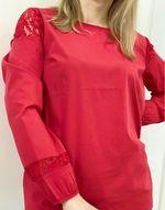 Блуза RESERVED Красный th785-33x
