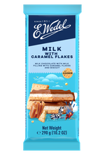 Шоколад Wedel Caramel with Wafer Flakes, 90г
