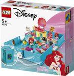 LEGO Disney Cartea aventurilor fantastice Ariel, artă. 43176