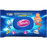 Влажная туалетная бумага для детей Smile Фиксики, 44 шт.